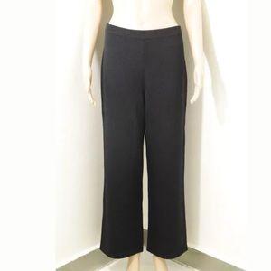 ST. JOHN Knit Pants Flat Front Basic Santana Sz 6
